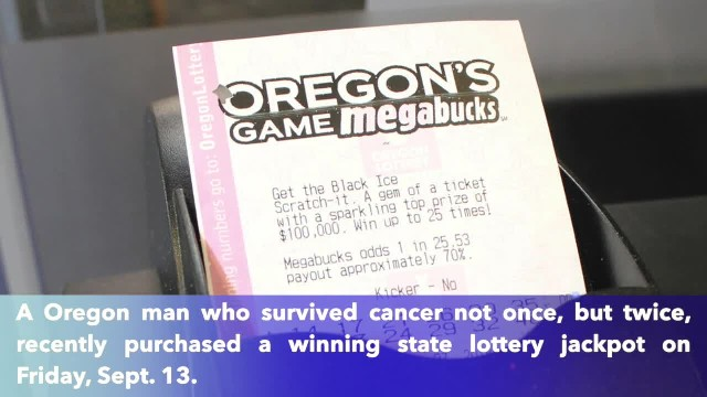 Man who survived cancer twice wins $4.6 million lottery jackpot