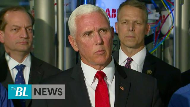Vice President Pence says President Trump Determined to Decrease Illegal Border Crossings