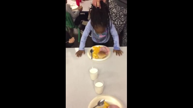 Daycare Employee Laughs And Yanks Little Girl's Hair To Force Her To Eat