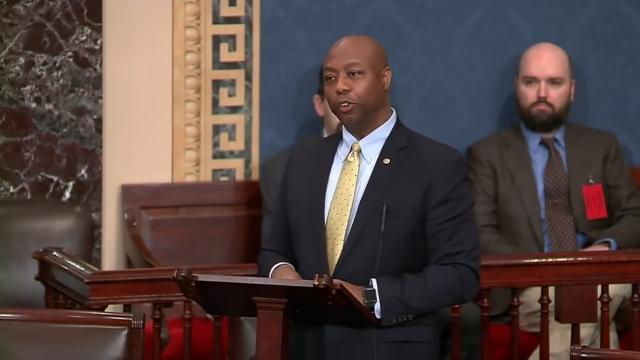 Sen. Tim Scott tears his pro-abortion colleagues to shreds on the Senate floor