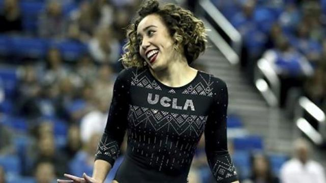 Katelyn Ohashi's latest floor routine scores yet another perfect 10