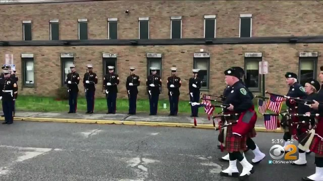 Strangers Turn Out To Honor 97-Year-Old Marine At Funeral