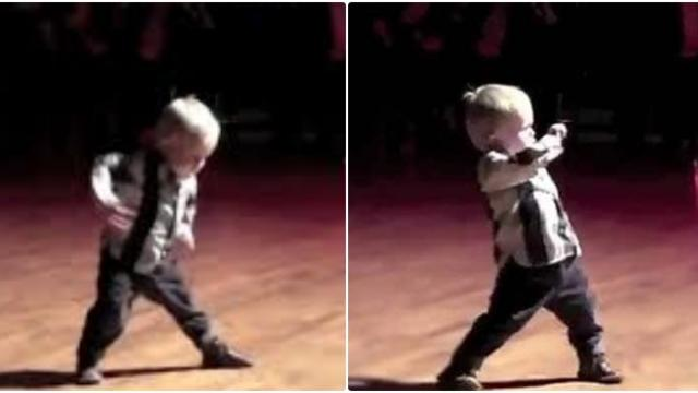 This Toddler Hears Favourite Song, Starts To Dance And Makes