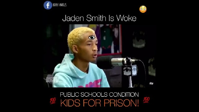 Jaden Smith : The School System and Prison System In America Have Far Too Much In Common