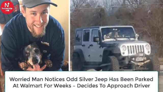 Man sees the same odd silver jeep at Walmart for weeks, finally decides to approach driver