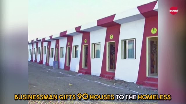 Instead Of Spending $11 Million Dollars On Daughter's Wedding, Businessman Builds 90 Houses For The
