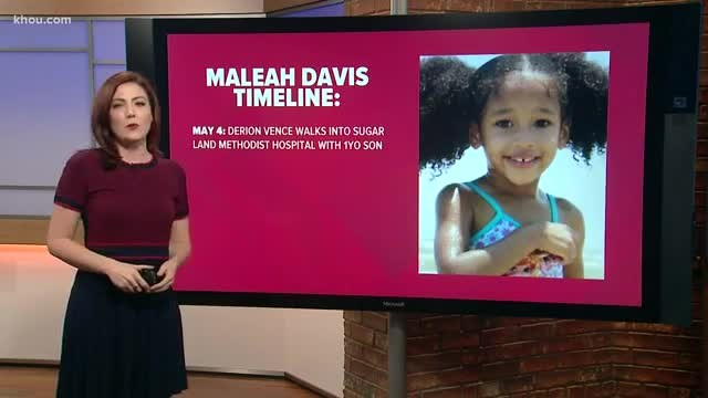 Child's remains found in search for Maleah Davis