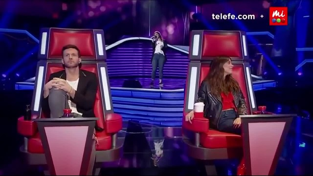 Singer has The Voice judge in a trance with her powerful vocals