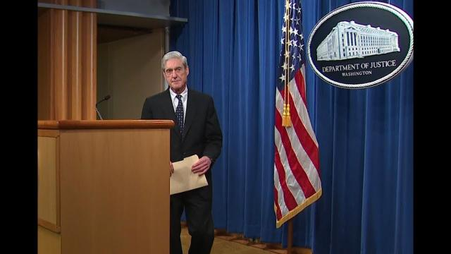 Robert Mueller Break's his silence! Case Closed?
