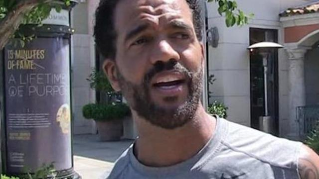 'Y&R' Star Kristoff ST. Johnfound passed away at 52 ...treated for depression last week