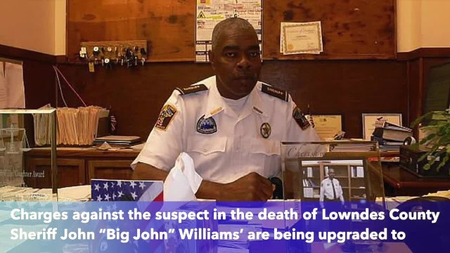 Charge upgraded to capital murder against suspect in death of Alabama Sheriff 'Big John' Williams