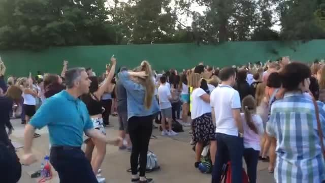 Dad Nails Classic Dance Moves At Concert Like Nobody's Watching. I Can't Take My Eyes Off Him
