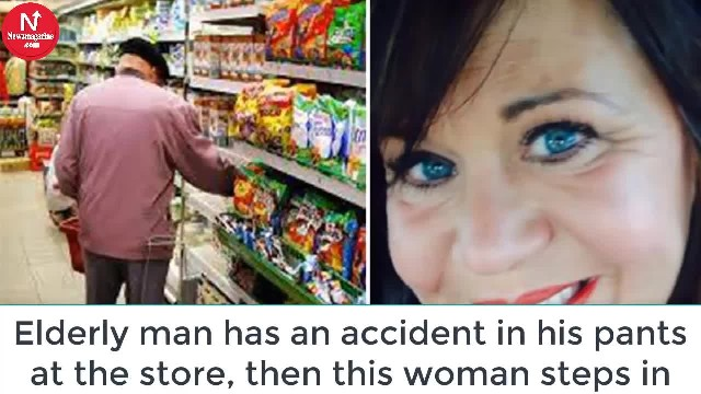 Elderly Man Has An Accident In His Pants At The Store – This Woman's Reaction Left Him In Tears