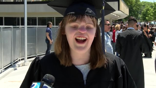 NC girl born without eyes or nose graduates from college