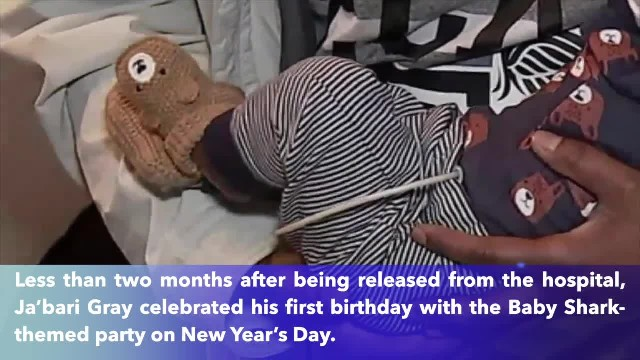 Texas baby born without skin celebrates his first birthday on New Year's day_converted