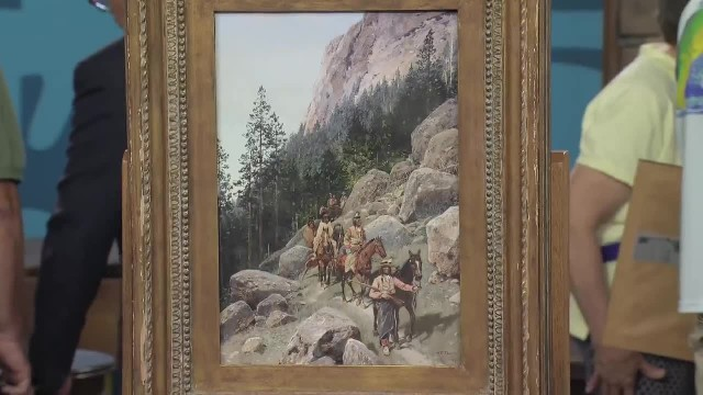 Woman's told grandma's painting is worth $250 bursting into tears when appraiser reveals truth