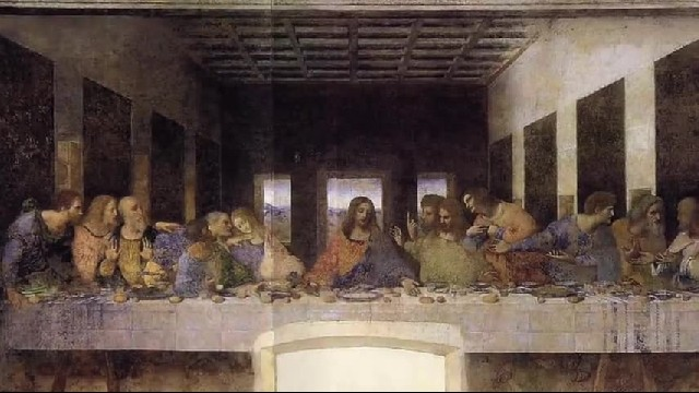 The Last Supper Painting's Hidden Truth About Jesus and Judas