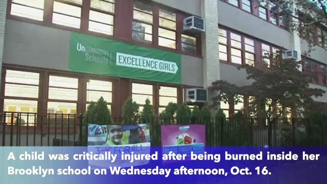 9-year-old in critical condition after burning herself at bathroom in Brooklyn school
