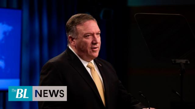 POMPEO States HK Government must take responsibility