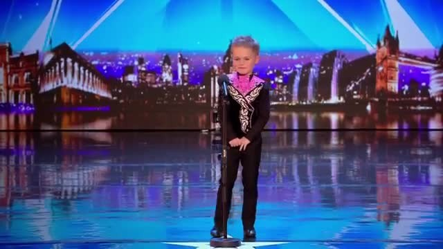 6-year-old nervously prepares to dance only to bust out moves that bring down the house