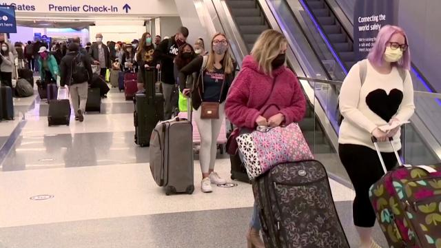 Millions travel for Thanksgiving