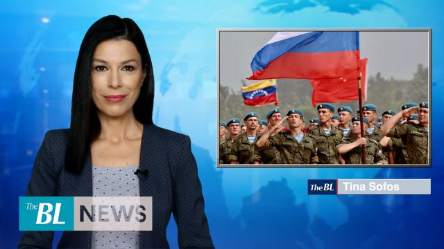 Russian soldiers wear Venezuelan uniforms