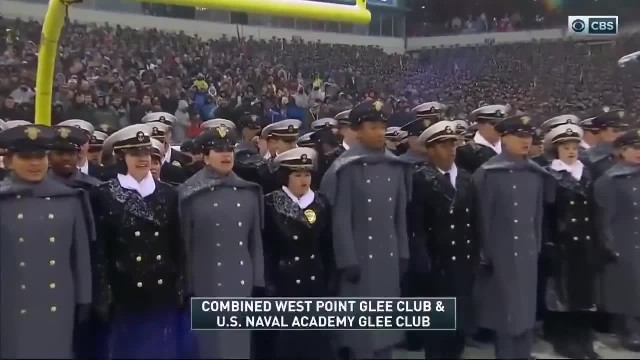 118th Army-Navy showdown brings out remarkable National Anthem performance