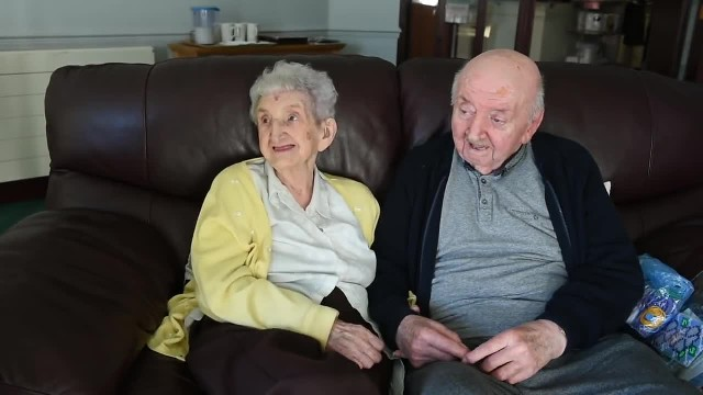98-year-old mom moves into senior care home to take care of her 80-year-old son
