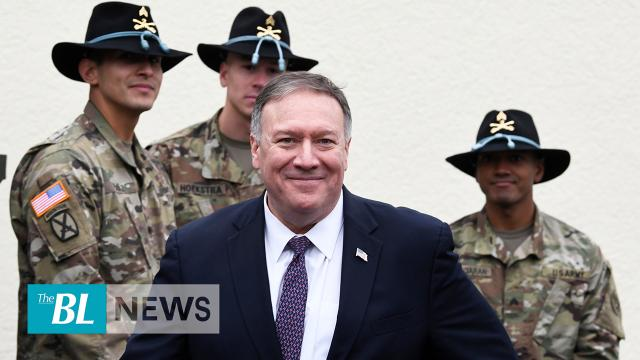 Pompeo gives powerful speech on Syria, praising Germany for support