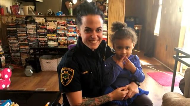 Toddler dials 9-1-1 for an 'emergency'—when officer learns the reason, she was blown away