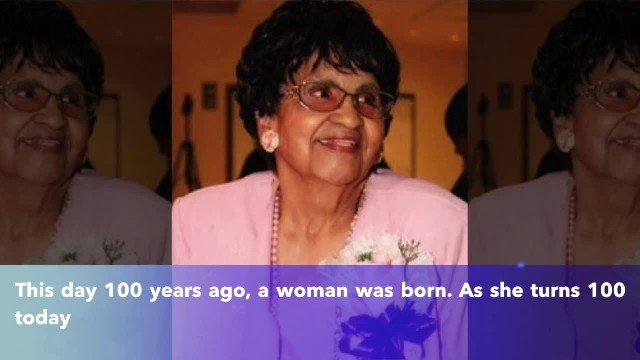 Georgia woman born on Oct. 19, 1919, celebrating 100th birthday