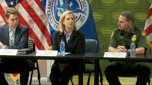 DHS Secretary meets with Border Agents in Yuma, Arizona