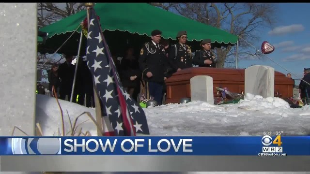 Hundreds Of Strangers Attend The Funeral Of A World War II Veteran With No Surviving Family Members