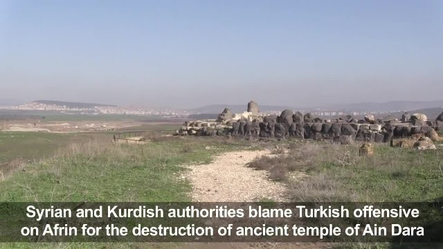 3,000-Year-Old Ain Dara Temple in Syria Reduced to Rubble by Turkish Airstrikes