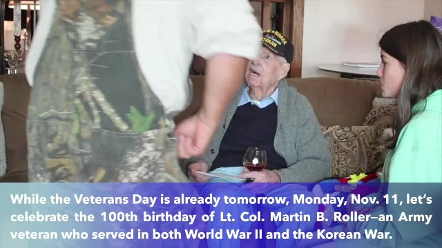 South Carolina two-war veteran celebrates 100th birthday- 'I've lived a good life'