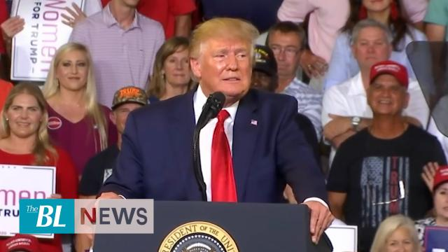 President Trump doubles down in faceoff with congresswomen at NC rally