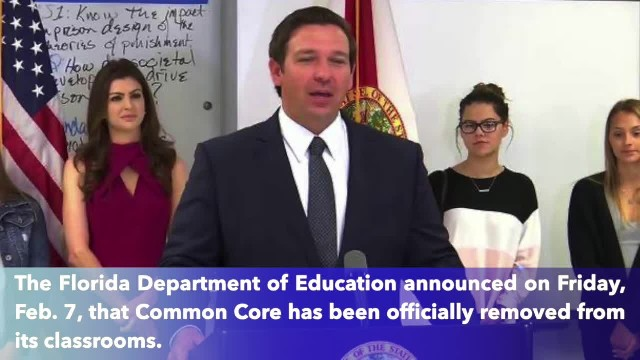 Florida governor announces end to Common Core education and replace by new 'B.E.S.T.' education