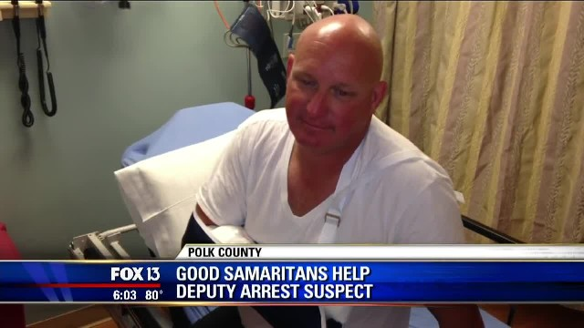 """Three Good Samaritans Save Deputy From Attacker To Make Sure He Can Go Home To His Family Read more"