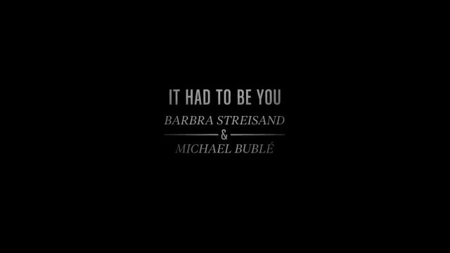 Michael Buble And Barbra Streisand Sweep Everyone Off Their Feet With 'It Had To Be You' Duet