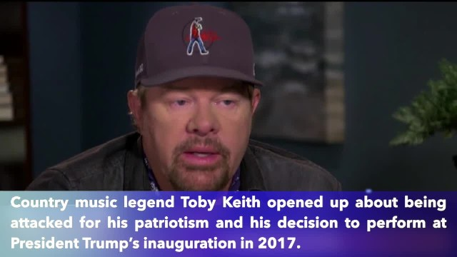 Country music legend Toby Keith speaks out to praise America flag and President Trump