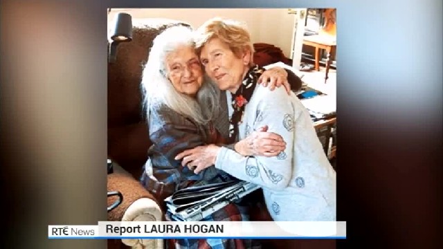 81-yr-old woman who grew up an orphan finally meets her 103-yr-old birth mom after 60-year search