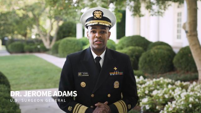 U.S. Surgeon General's message for at-risk college students