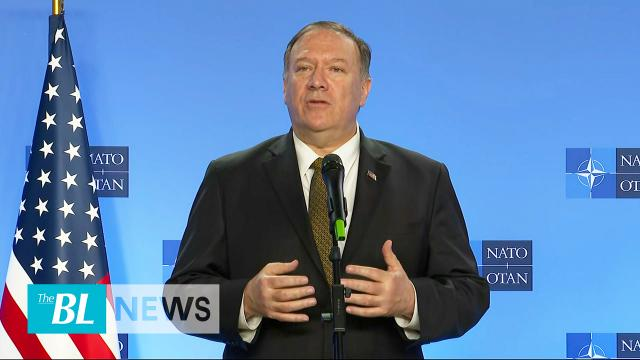 Pompeo briefs NATO on Syria ceasefire