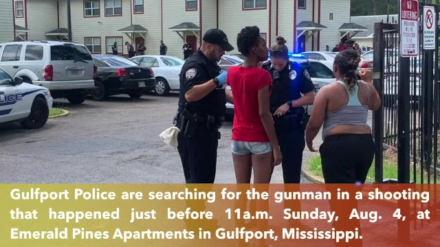 One shot dead at Gulfport apartment complex in Mississippi, search underway for gunman