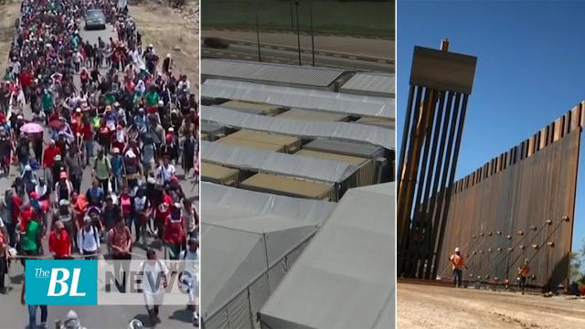 """Remain in Mexico"" program underway-Tent Courts complete in two border cities"