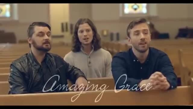 6 men begin singing in an empty church with song that's covering everyone in goosebumps