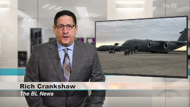 The BL news-The U.S. Air Forces Flying aid to Venezuela