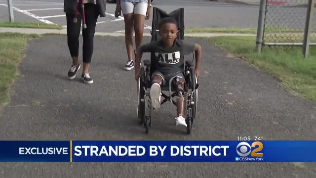 Disabled 1st-Grader Is Stranded On First Day, School Tells Mom 'There's No Bus For Him'