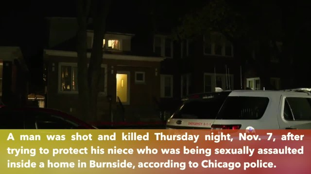 Uncle shot to death trying to protect niece who was being sexually assaulted in Illinois