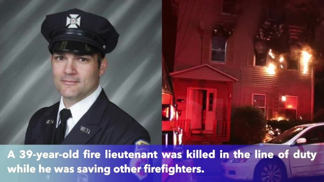 Fire lieutenant passes away after saving baby, firefighters in Massachusetts house fire